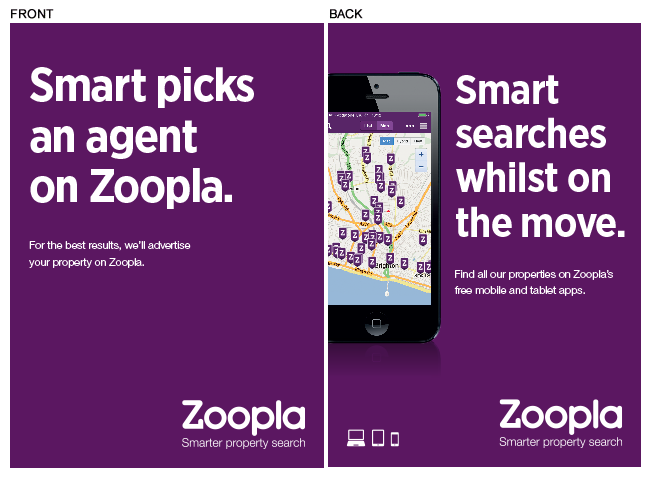 Zoopla window card