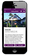 Zoopla iPhone App - Property view
